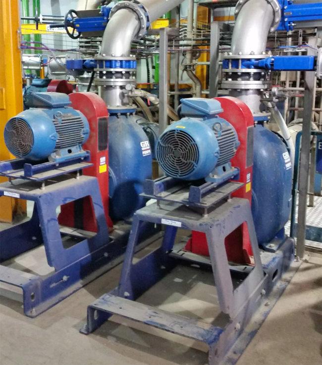 Comment calculer la puissance d'une pompe centrifuge ?