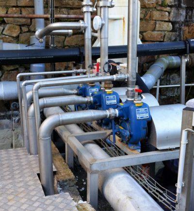 Petite pompe monobloc pour eaux chargées de Gorman Rupp