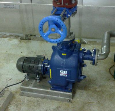Pompe monobloc T2 de Gorman Rupp