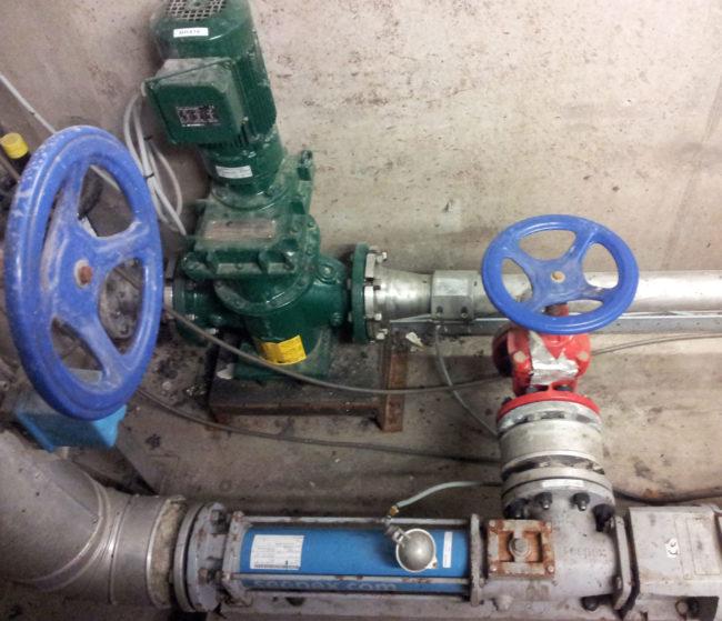 Protection des pompes volumétriques pour eaux chargées