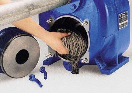 Nettoyage d'une pompe Gorman-Rupp