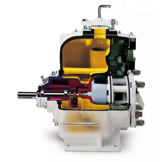 Vue ouverte pompe auto-amorçante Super T